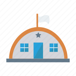 architect, building, estate, garage, home, hostel, real icon