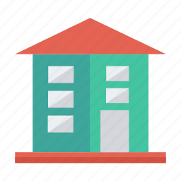 architect, building, city, estate, home, house, real icon