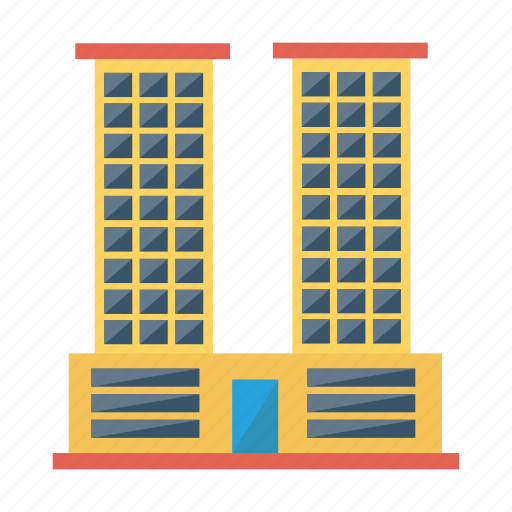 architect, building, commercial, estate, industrial, office, real icon