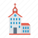 architect, building, christian, church, estate, place, real icon
