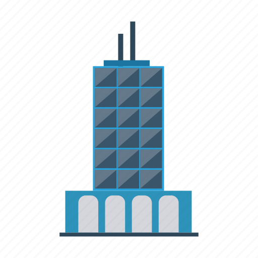 architect, building, city, commercial, estate, real, tower icon