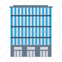architect, building, commercial, estate, industrial, real, tower icon