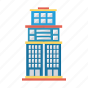 architect, building, estate, house, living, real, tower icon