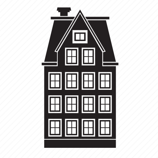 Apartment, building, home, house, old, residential icon - Download on Iconfinder