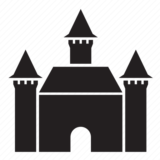 age, building, castle, fortress, medieval, tower icon