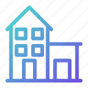 building, home, house, real estate, residence icon