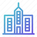building, city, facility, skyscraper, tower icon