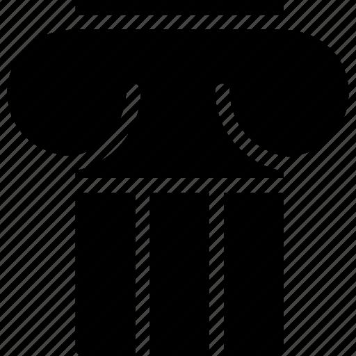 column, creative, grid, layout, pillar, shape, structure icon