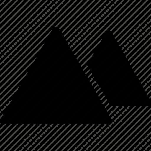 ancient, creative, egypt, grid, mummy, pharaohs, pyramid, pyramids, seven-wonders, shape, tourist-spot icon