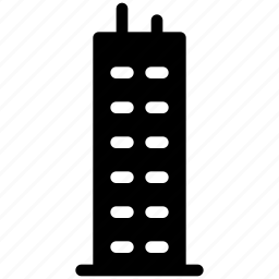 castle, creative, design, grid, shape, tower icon