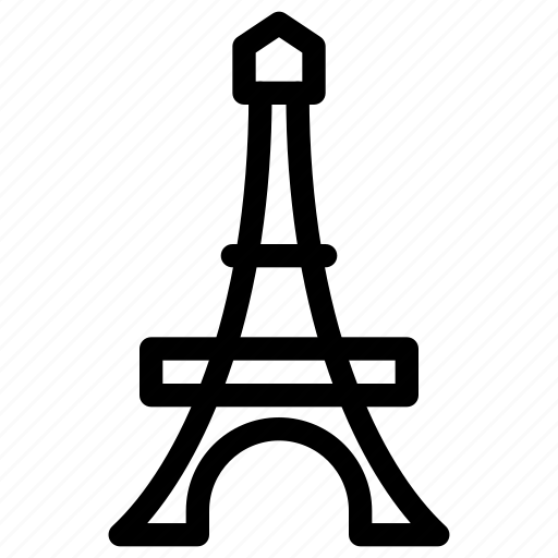 creative, eiffel, eiffel-tower, france, grid, line, paris, shape, tourist-spot, tower icon