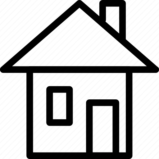 apartment, building, creative, grid, home, house, line, real-estate, shape, shelter icon