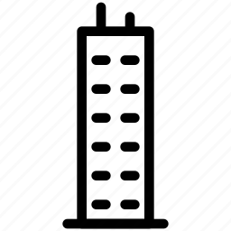 castle, creative, design, grid, line, shape, tower icon