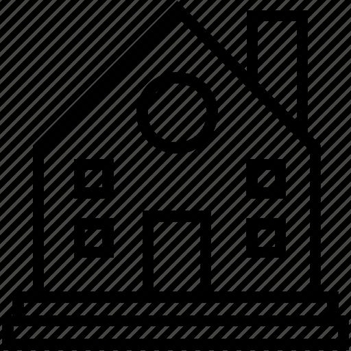 apartment, family house, home, house, villa icon