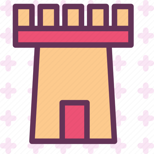 army, castle, defend, tower icon