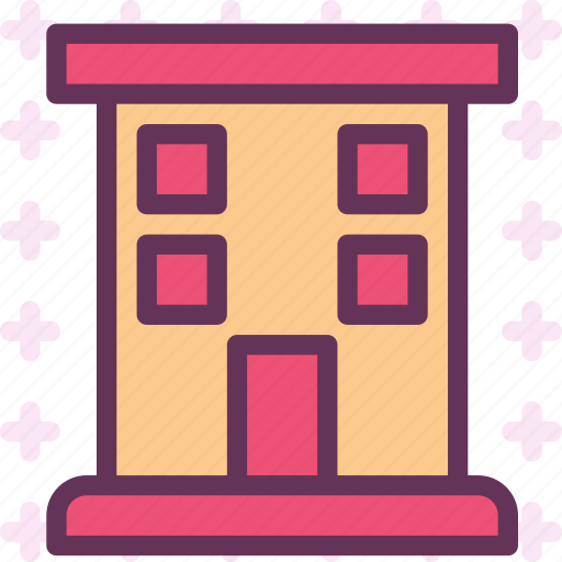 apartments, building, condos, homes, houses icon