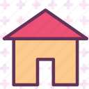 building, home, house, roof icon