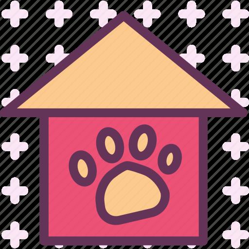 animal, cage, cat, dog, house icon