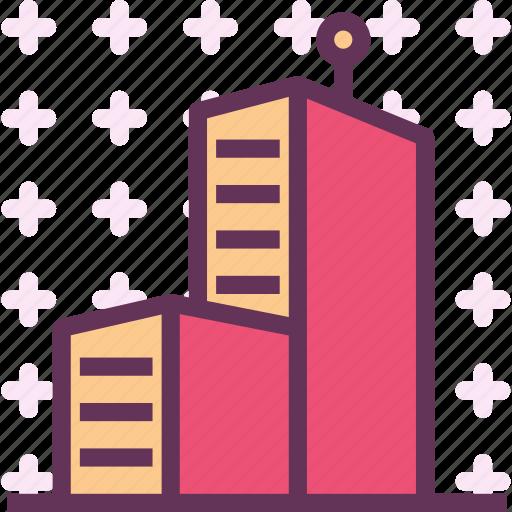 blocks, building, city, condos, homes, houses icon