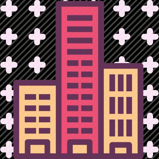 apartment, condos, home, neighborhood icon