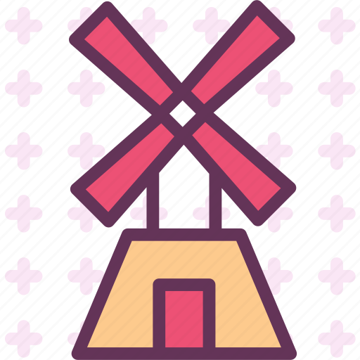 energy, farm, wind, windmill icon