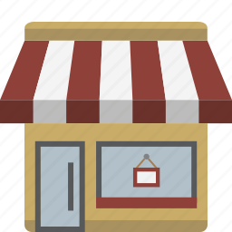 boutique, building, business, shop, store icon