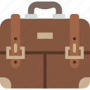 bag, briefcase, office, work icon