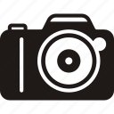 camera, camera flat, digital camera, lens, photo, photo camera, photography icon