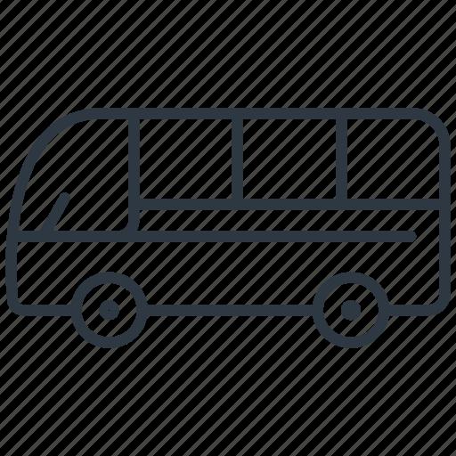 bus, school bus, transport, vehicle icon