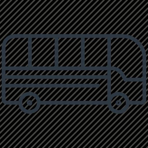 Bus, transport, transportation, vehicle icon - Download on Iconfinder