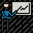 analytics, businessreport, chart, graph, statistics icon