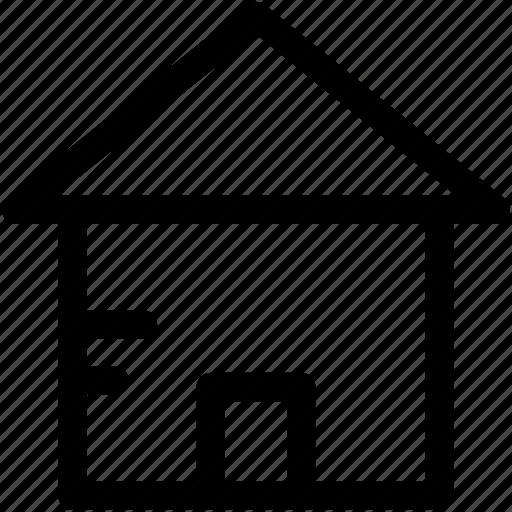 home, house, palace, real estate, villa icon