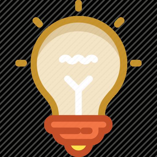 bulb, electricity, incandescent, light bulb, luminaire icon
