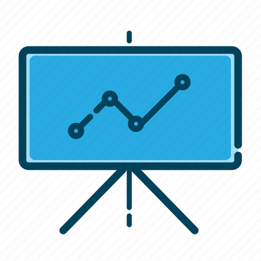 analytics, business, chalkboard, charts, graph presentation, presentation, seo icon