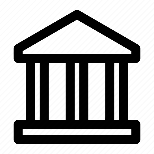 bank, building, business, government, institute icon