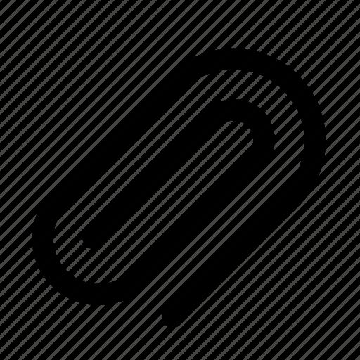 attach, business, clip, office, paper clip icon