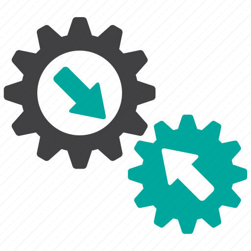 cog wheel, configuration, gears, operation, system icon