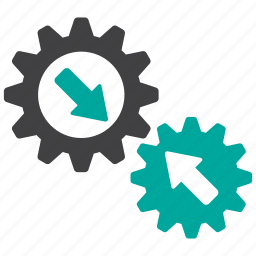 configuration, gear, gears, preferences icon