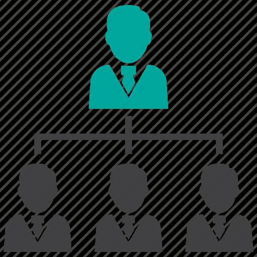 hierarchy, organization, structure icon