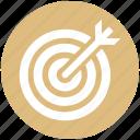 aim, ambition, bulls-eye, shooting, shooting target, sports shooting, target icon