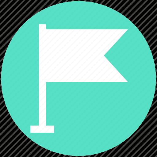 Alert, flag, notice, warning, waving flag icon - Download on Iconfinder
