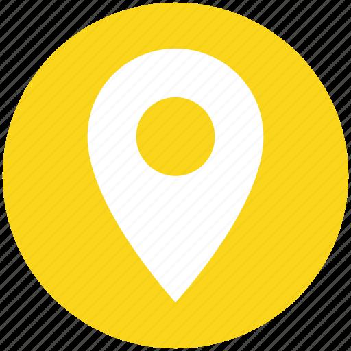 location, location marker, location pin, location pointer, map, map pin, navigation icon