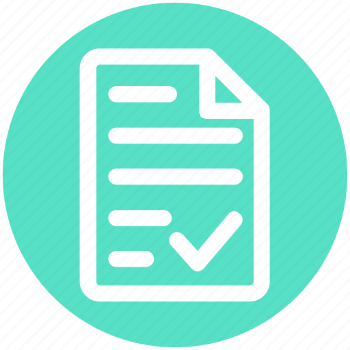 banking, check, contract, document, file, paper, sheet icon