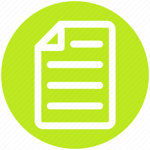 banking, contract, document, page, paper, sheet icon