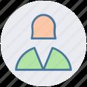 ., avatar, book keeper, female, girl, profile, staff, user icon