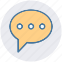 chat, communication, conversion, message, sms, typing icon