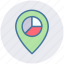finance, gps, location pin, location pointer, map, map pin, navigation icon