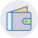 cash pouch, money, open wallet, purse, wallet icon