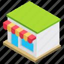 civil building, garage, garage shop, storehouse, workshop garage icon