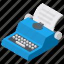 court reporting, shorthand machine, steno writer, stenotype machine, typewriter icon